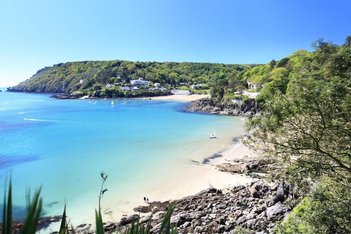 Beautiful beach in Salcombe, Devon