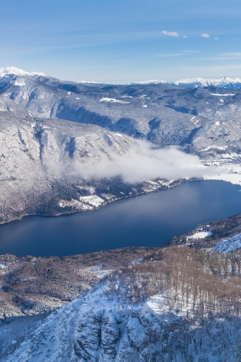 View from Vogel of Lake Bohinj