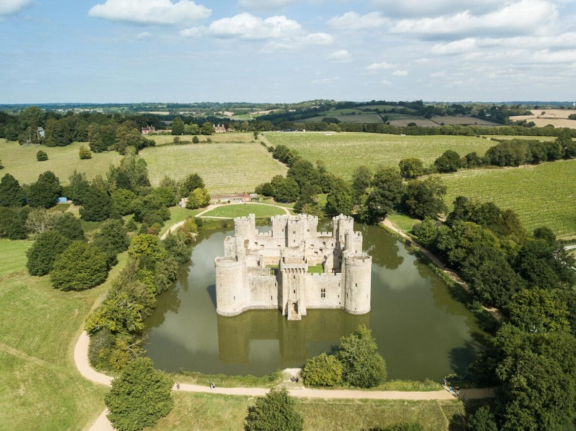 Bodiam Castle, East Sussex