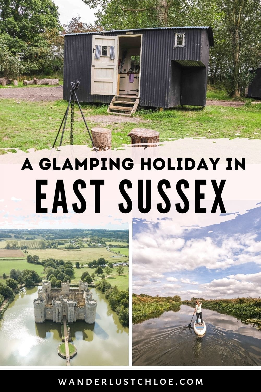 East Sussex glamping holiday