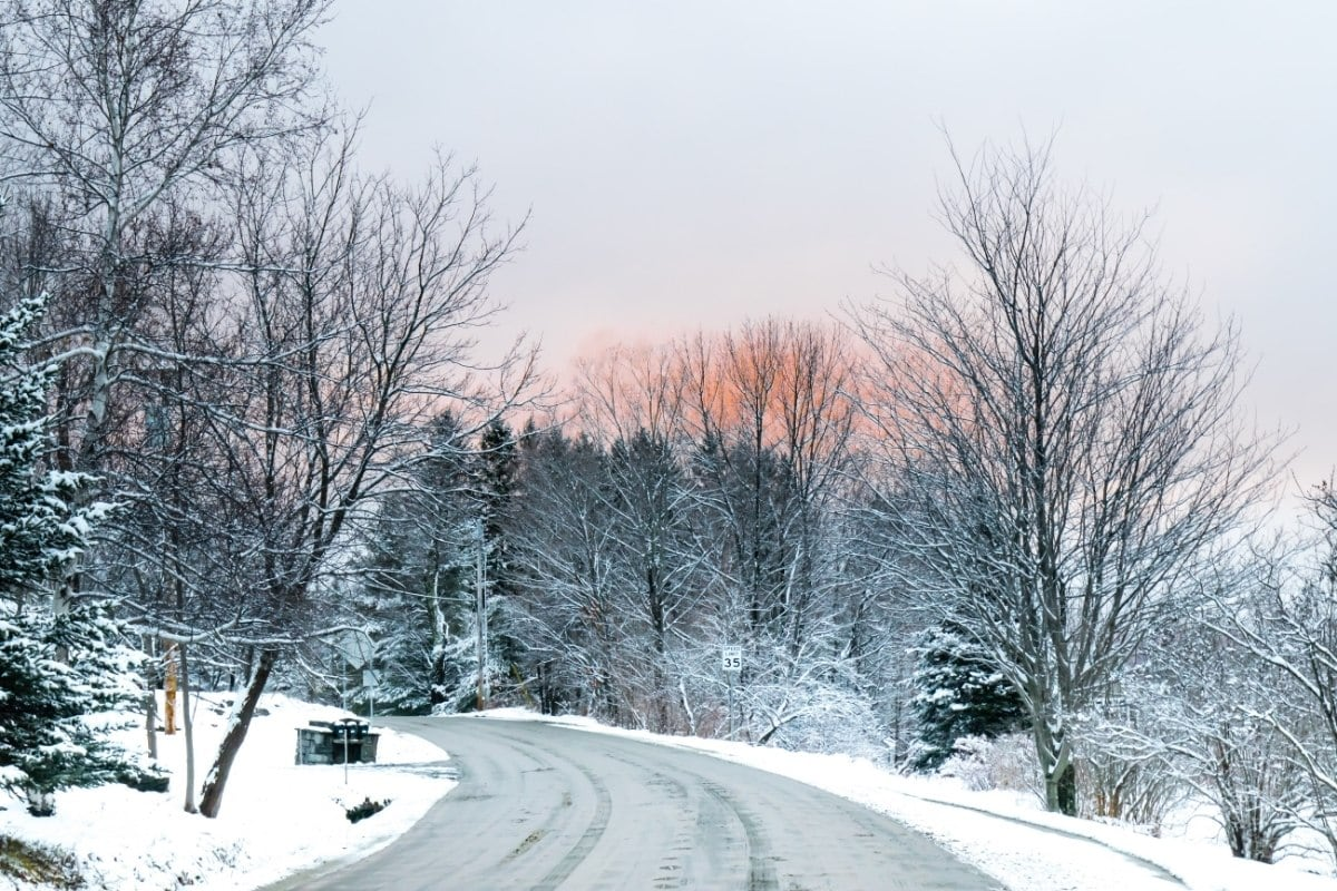 How about a road trip through Vermont in winter?