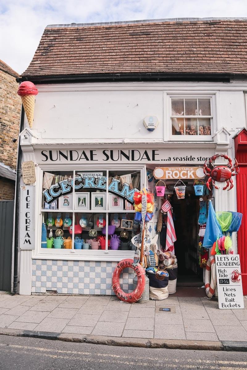 Sundae Sundae, Whitstable, Kent
