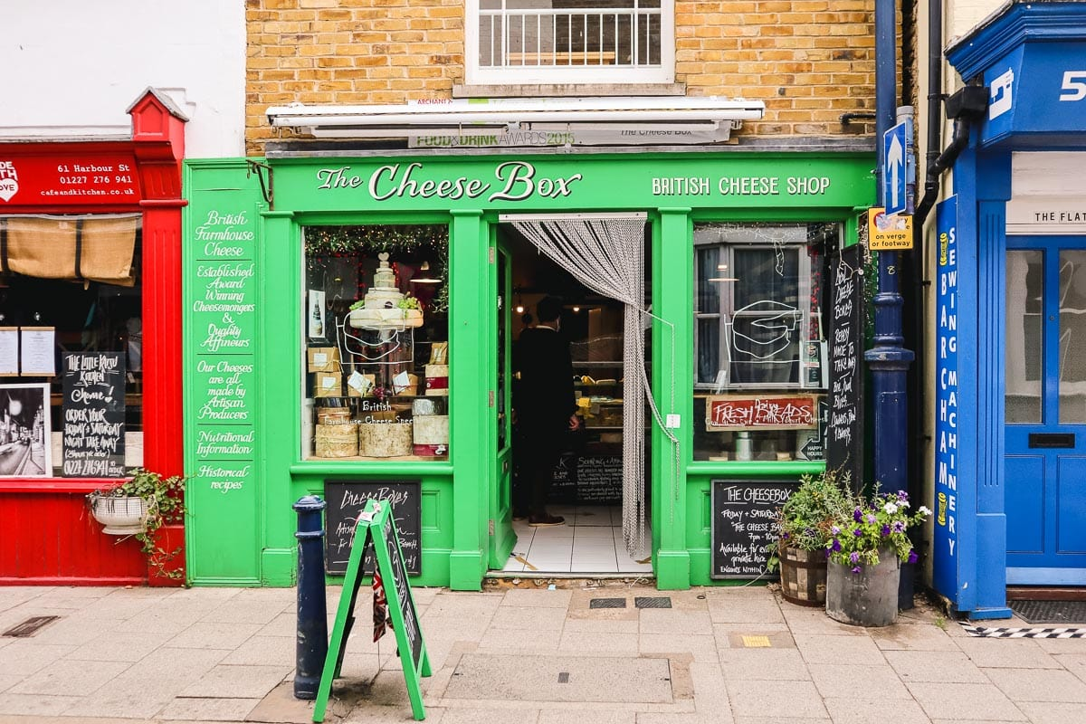 The Cheese Box, Whitstable