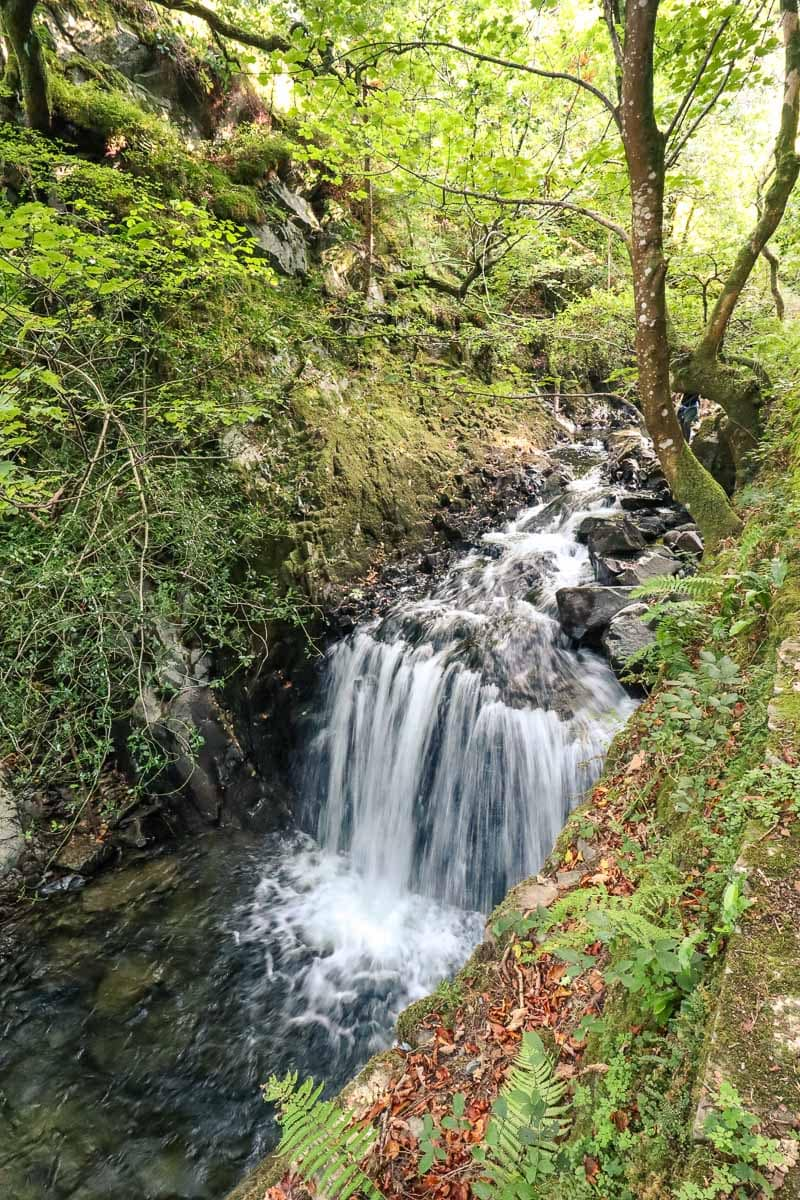Ceunant Mawr Waterfall, Llanberis