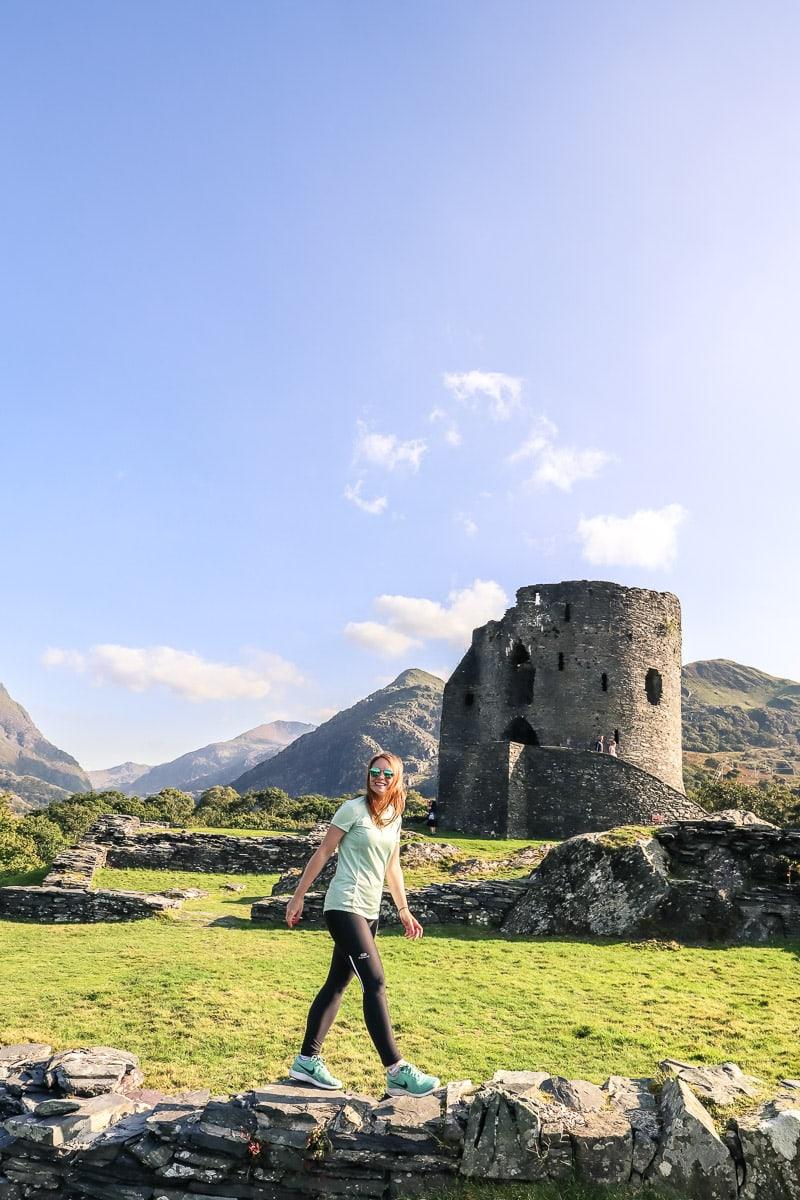 Dolbadarn Castle, North Wales