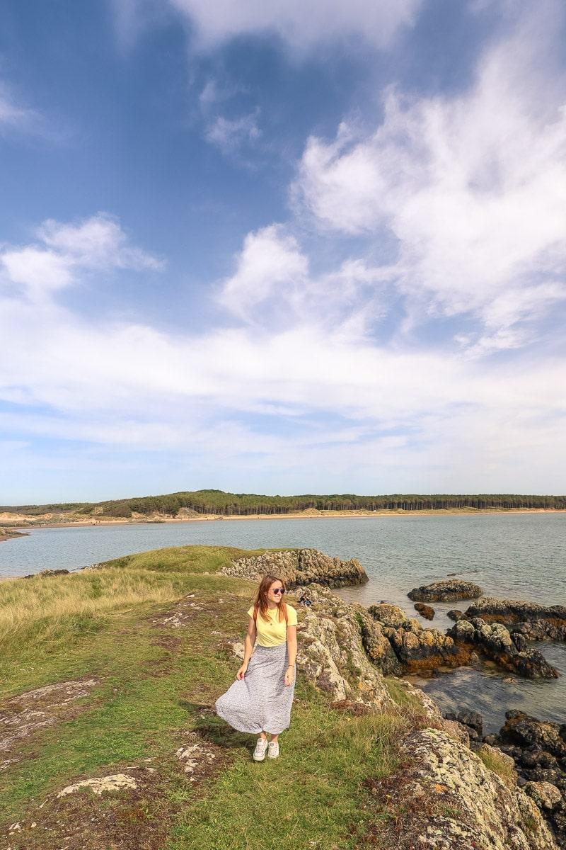 Exploring Llanddwyn Island, North Wales