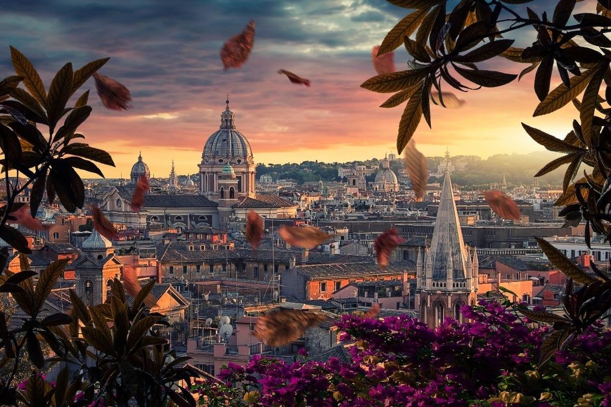 Stunning city of Rome, Italy
