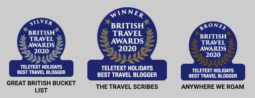 British Travel Awards Best Blog