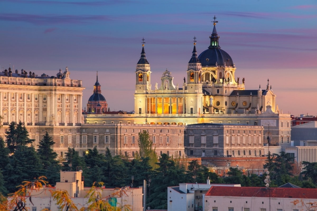 Beautiful views in Madrid