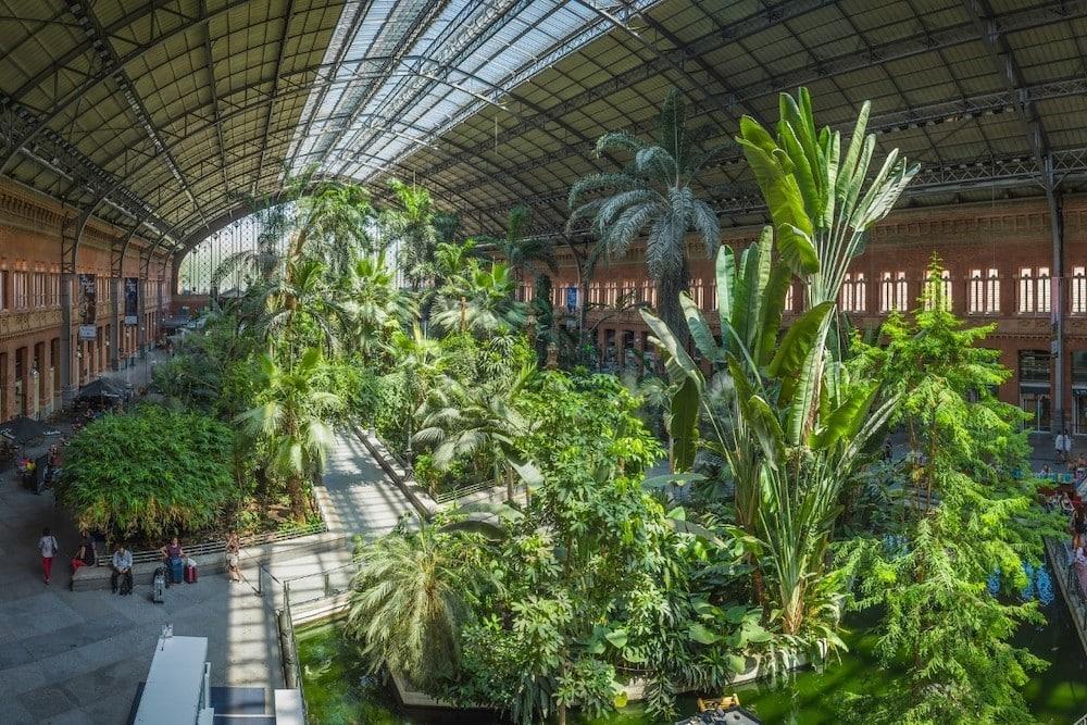 Atocha Station gardens, Madrid