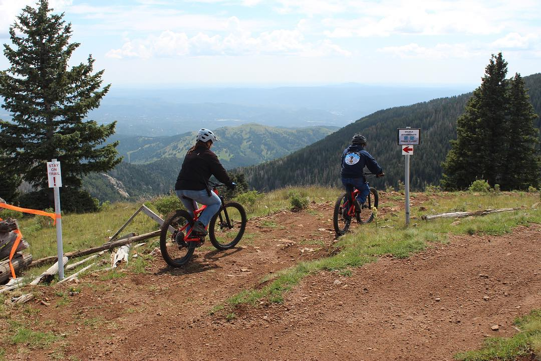 Biking in Ruidoso