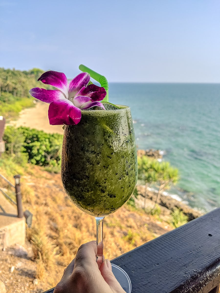 Drinks with a view in Koh Lanta