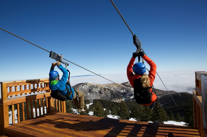 Zip Rider at Ski Apache, New Mexico