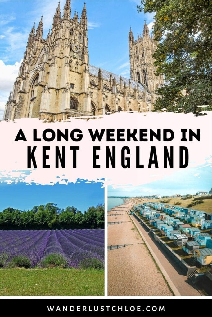 long weekend in kent