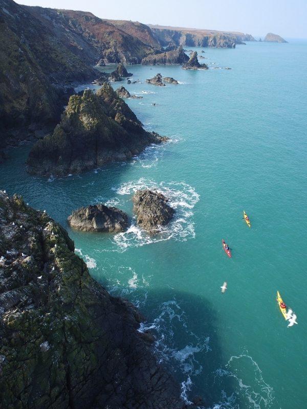 Pilgrims from the sea experience (© Preseli Ventures)