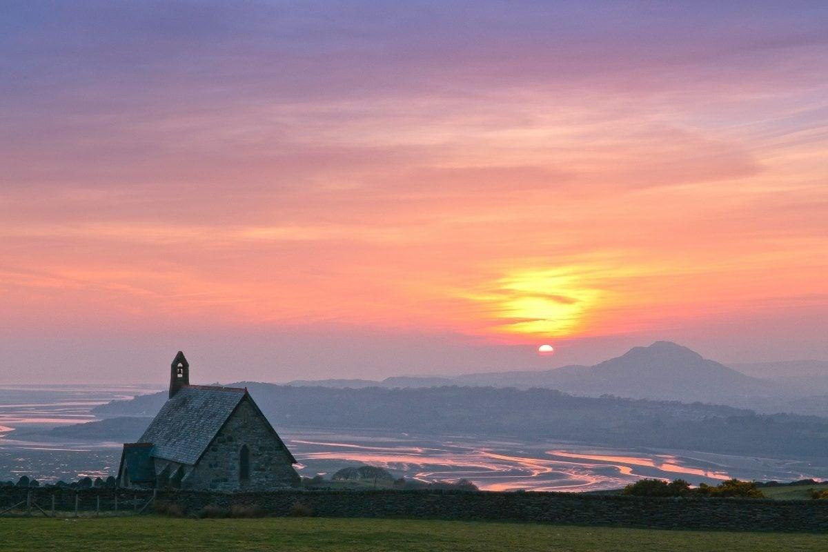St Tecwyn Church in Llandecwym, Gwynedd (© Crown Copyright 2020)