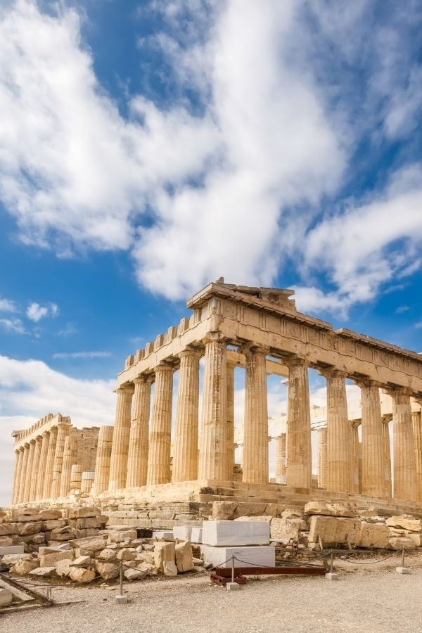 Parthenon in Athens - a must see during your week in Greece