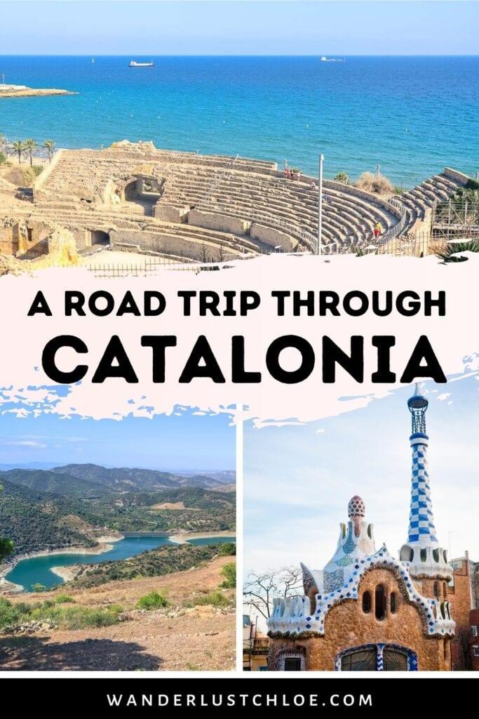 catalonia road trip