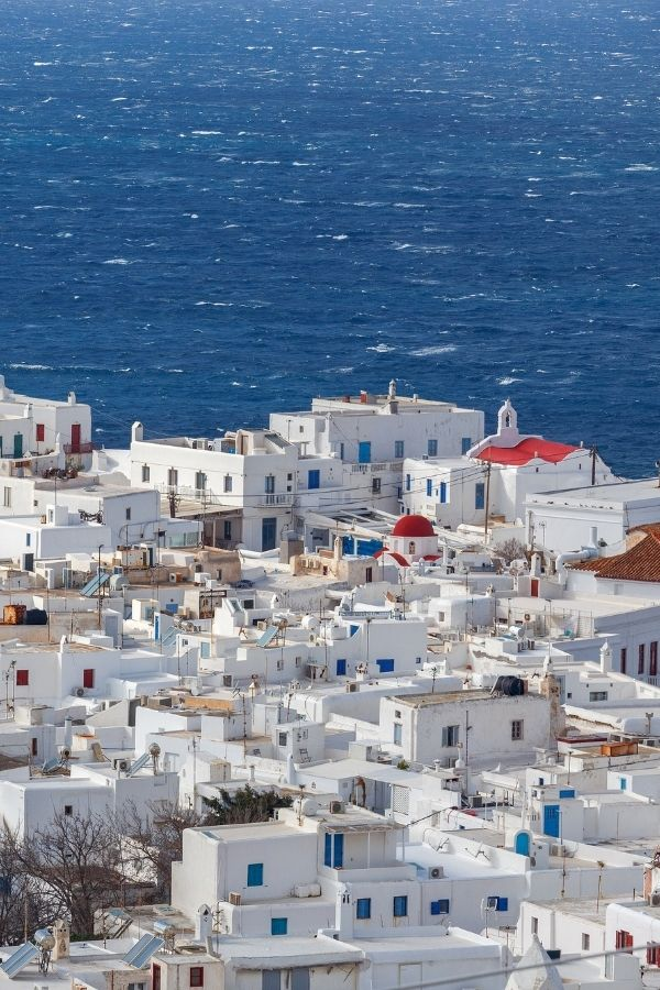 how to get to mykonos