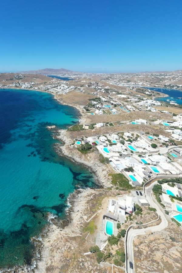 how to get to mykonos by plane