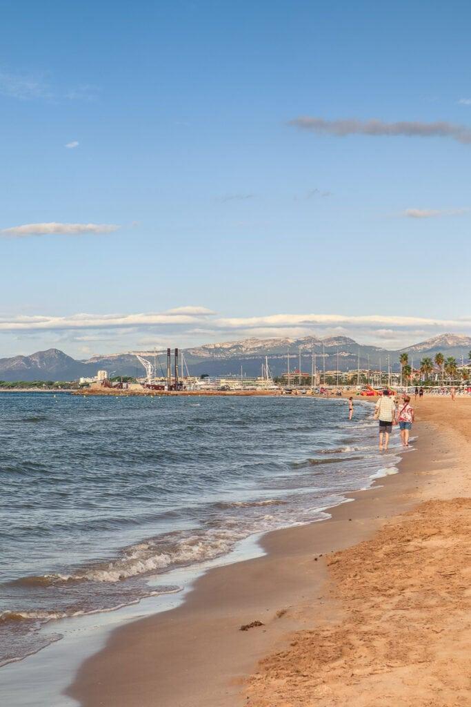 Salou beach