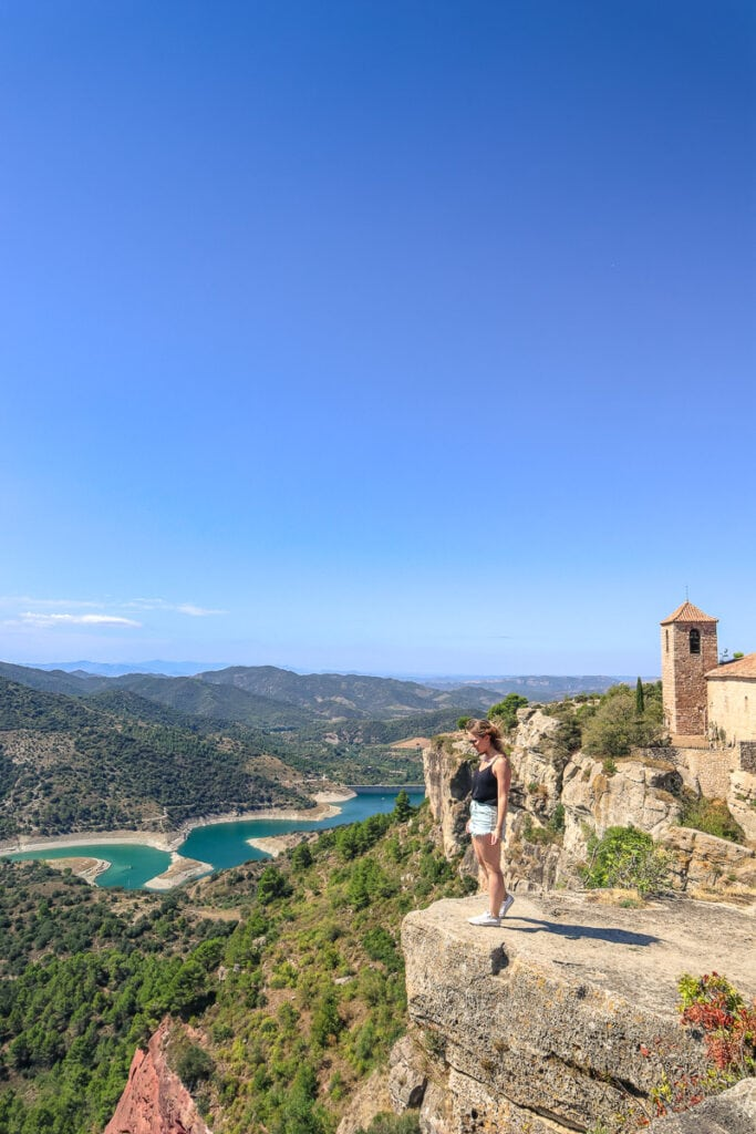 View from Siurana, Spain
