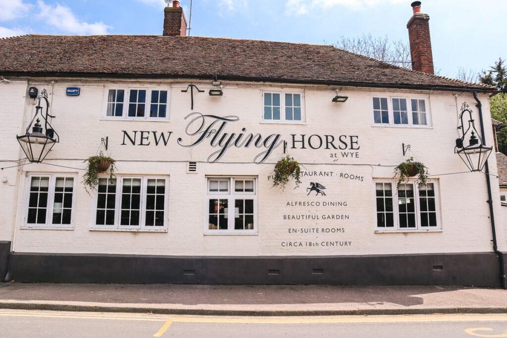 New Flying Horse Pub, Wye