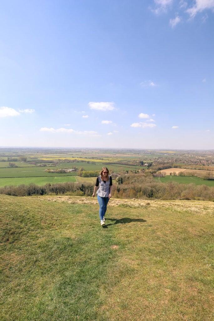 Walking in Wye, Kent