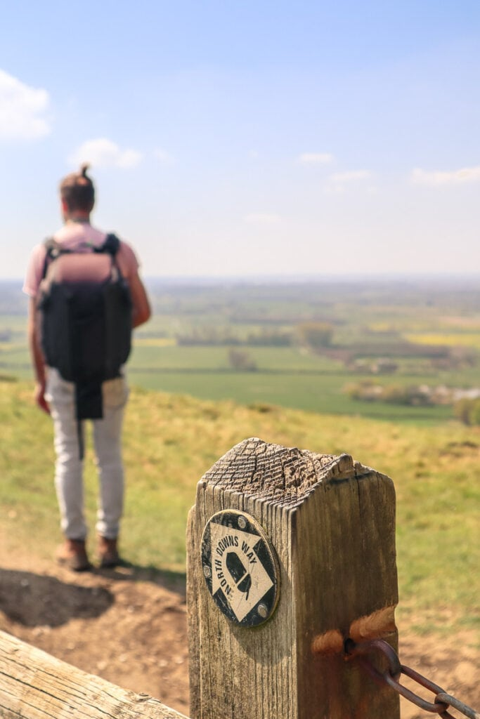 Walking the North Downs Way in Kent