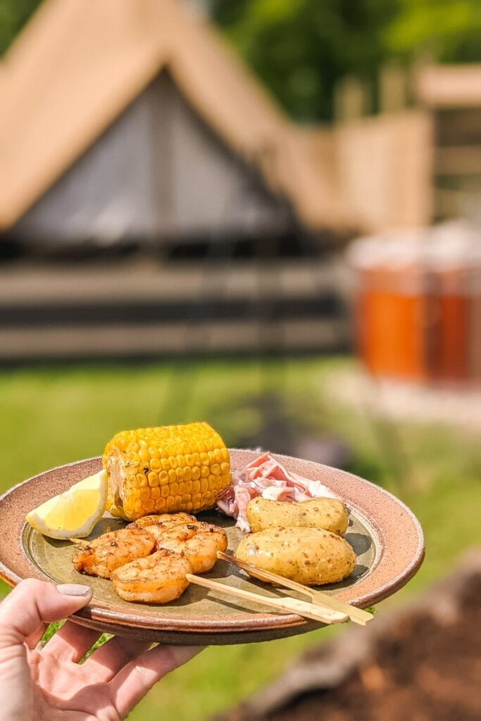 Our Calcot & Spa BBQ at Wild Carrot