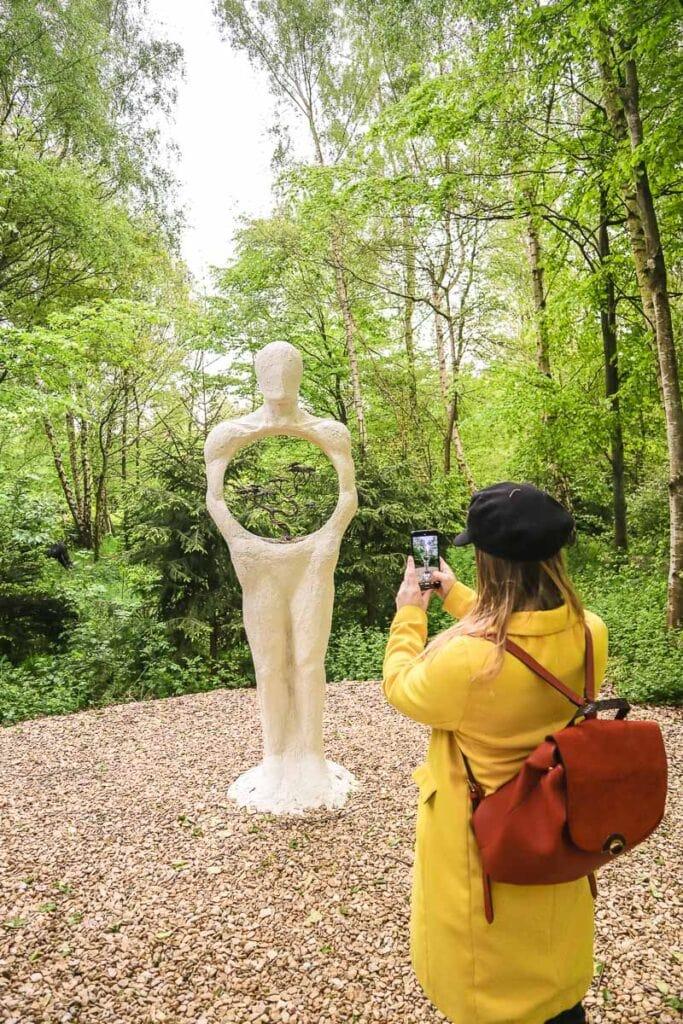 Exploring the Cotswold Sculpture Park