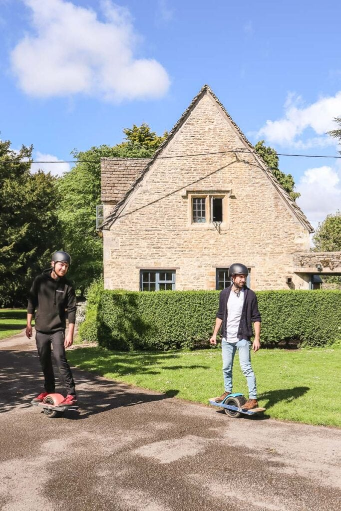 Onewheel lesson in the Cotswolds
