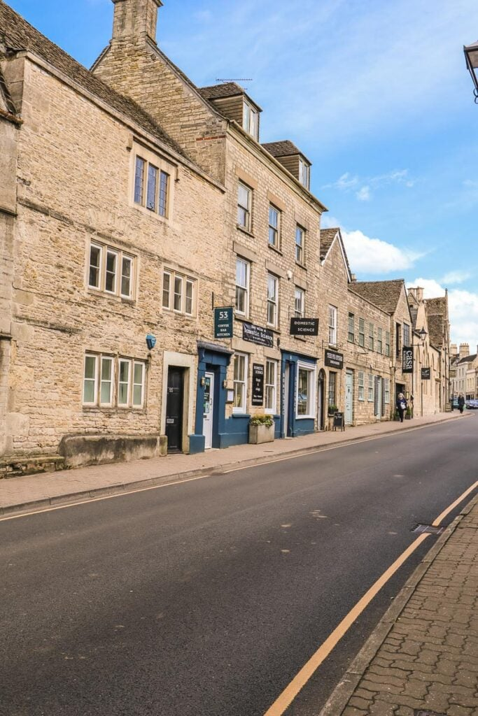 Exploring the pretty town of Tetbury