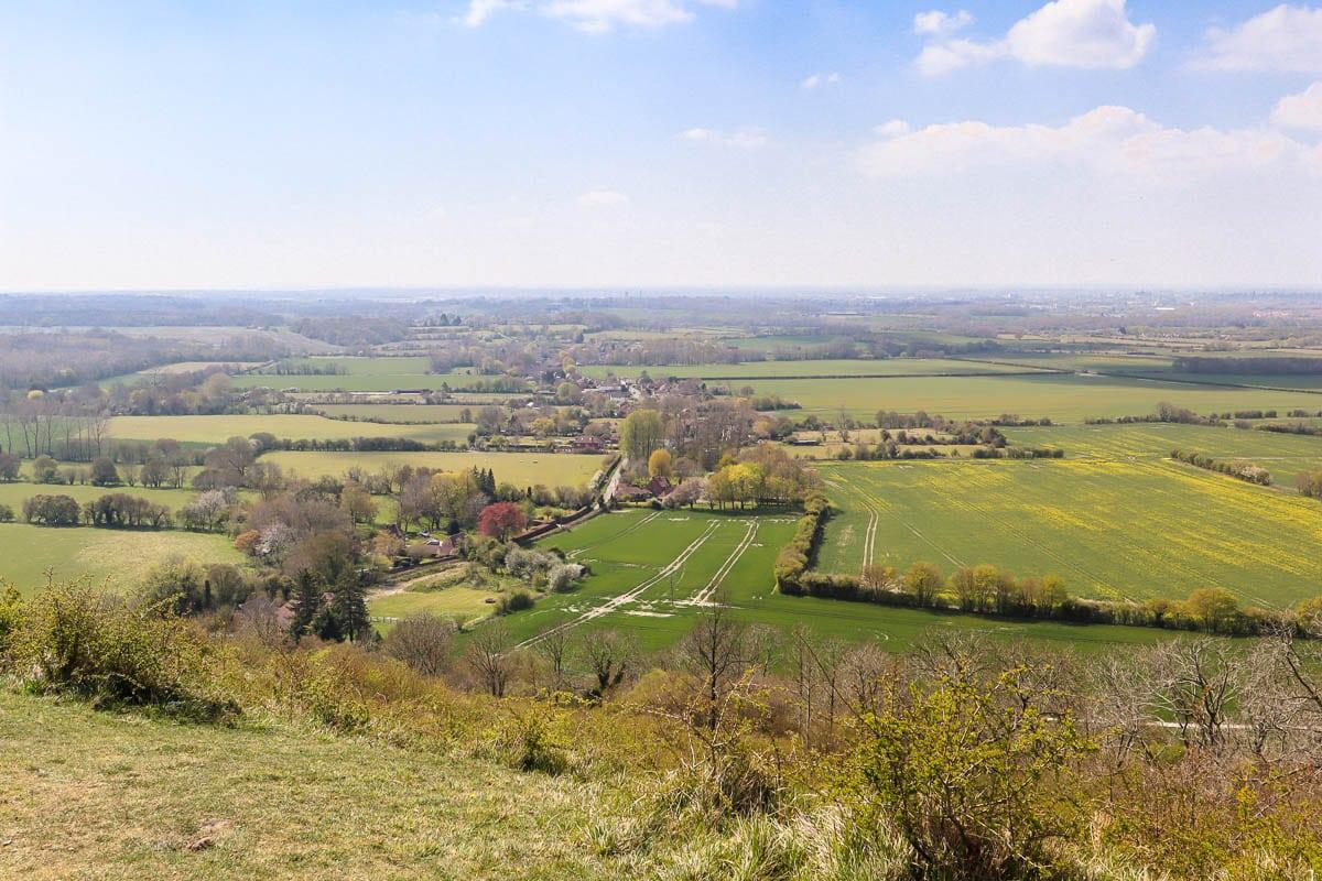 A Countryside Break in Wye, Kent: Walks in the Kent Downs