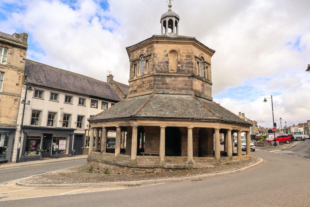 Market hall in Barnard Castle, Durham