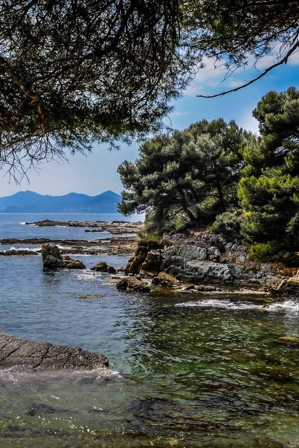 Île Sainte-Marguerite is a beautiful place to visit