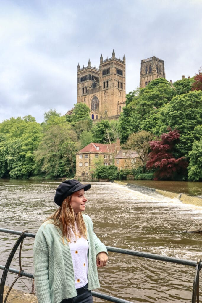 View from the Riverside Walk in Durham