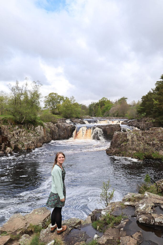 Low Force Waterfall, Durham