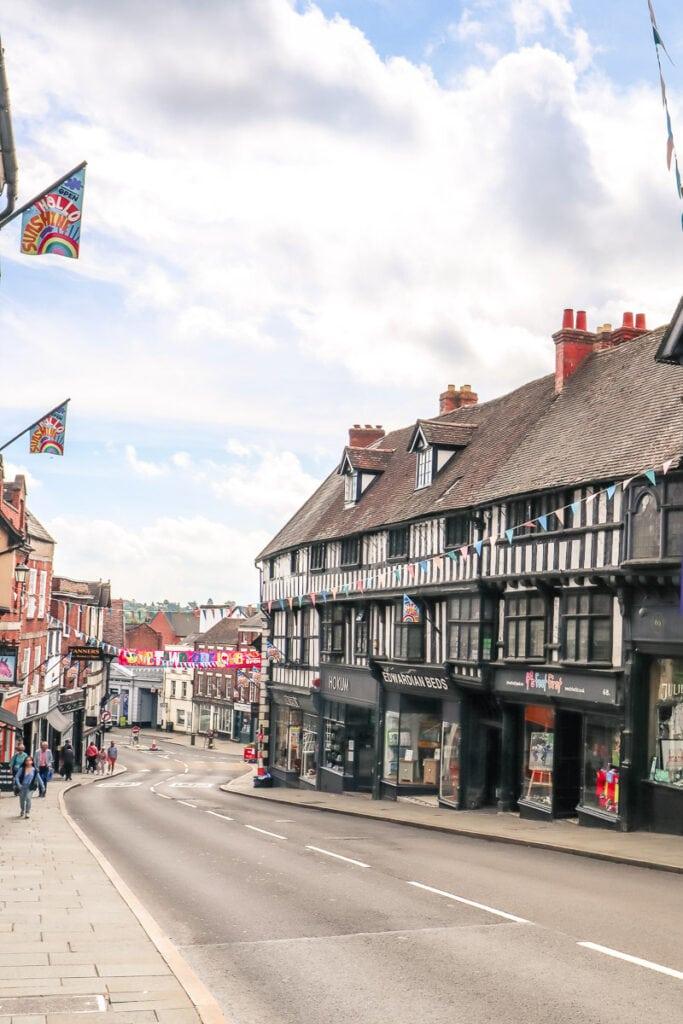 Wyle Cop, Shrewsbury