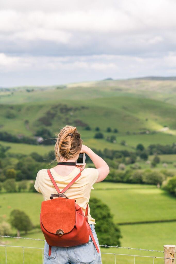 Stunning views over the Shropshire Hills