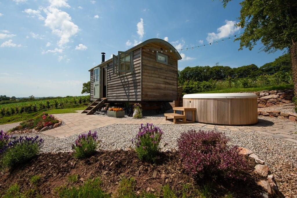 Bowhay Shepherd's Hut