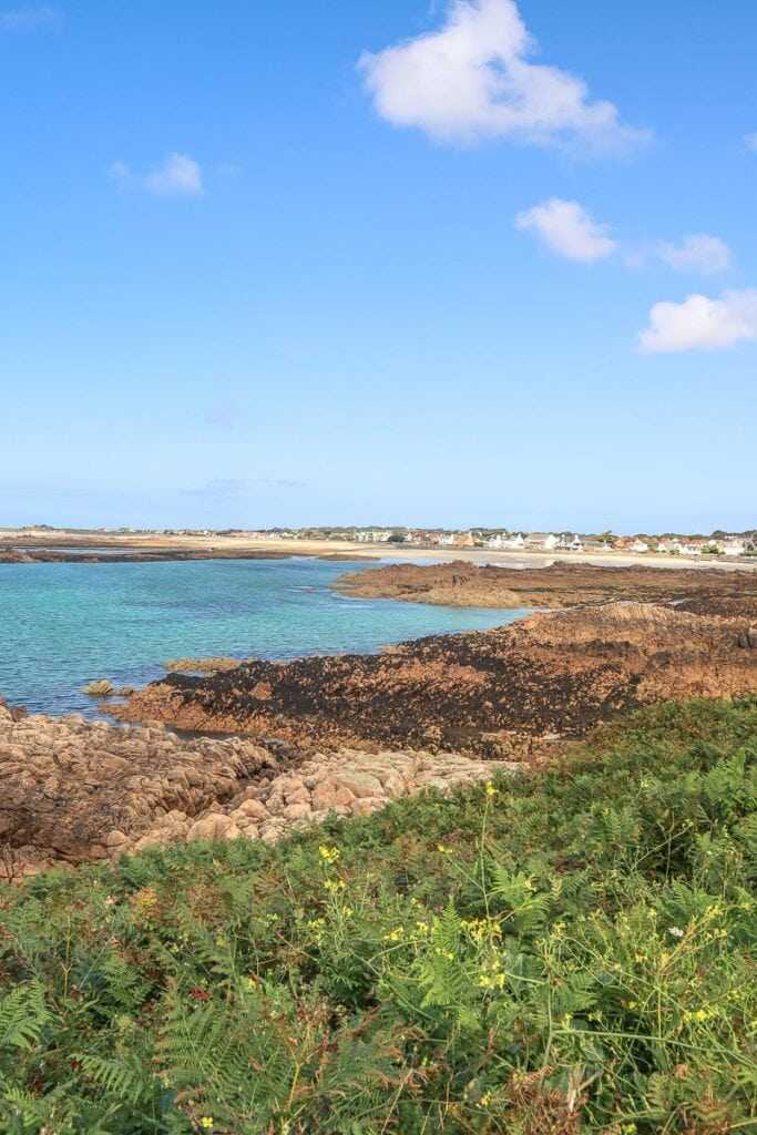 One of my favourite beach views in Guernsey