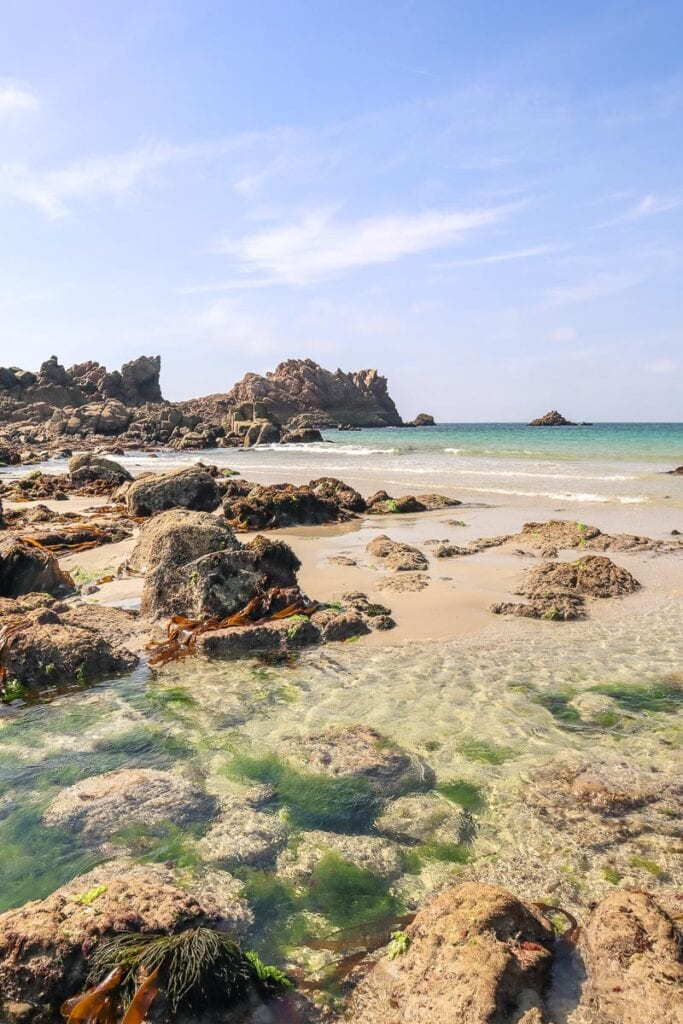 One of the best beaches in Guernsey