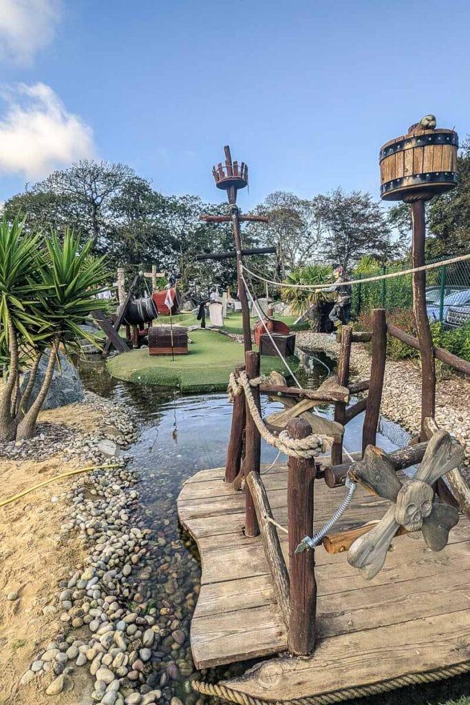 Pirate Bay Adventure Golf in Guernsey