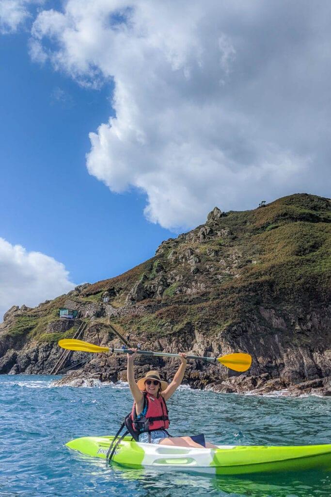Kayaking in Guernsey