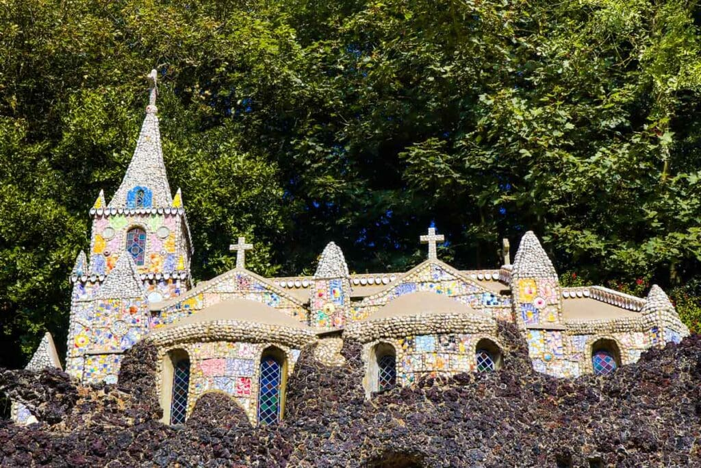 The Little Chapel is one of the top places to visit in Guernsey