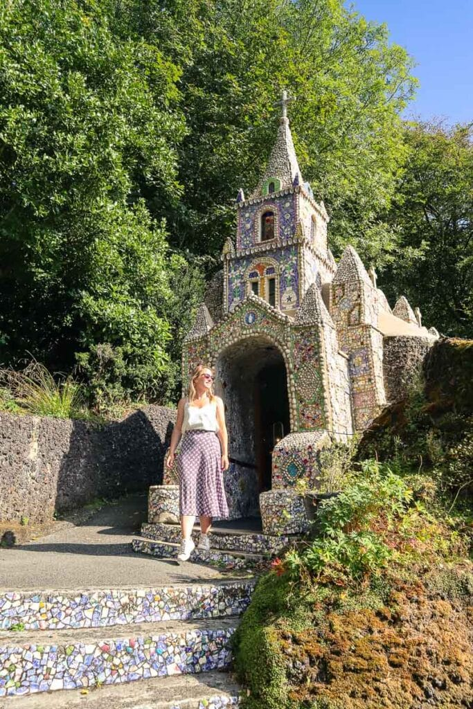 Visiting the Little Chapel in Guernsey