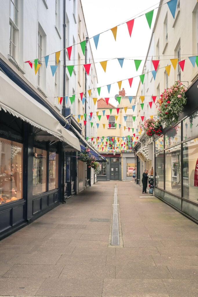 Shops in St Peter Port