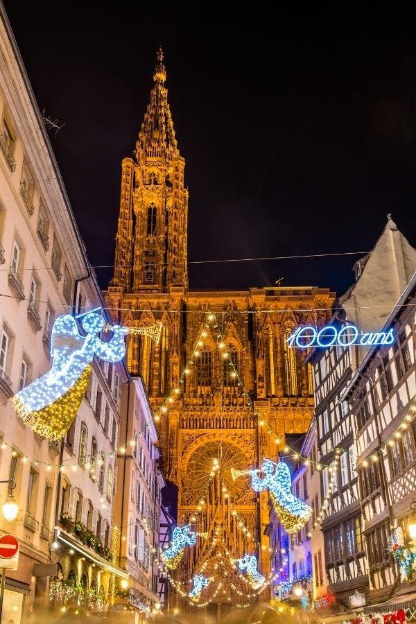 Strasbourg in winter